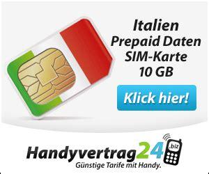 prepaid simkarte italien schnelle erreichbarkeit ueberall
