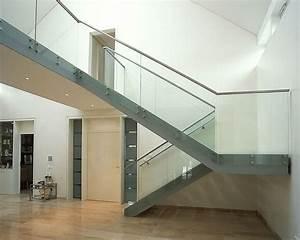 Geländer Für Treppe : treppe und gel nder glas stahlkonstruktion haus innen pinterest ~ Markanthonyermac.com Haus und Dekorationen