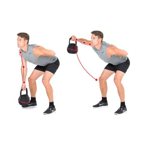 reverse fly chest kettlebell exercises press exercise shoulders arm leg training rotate rowing ex push