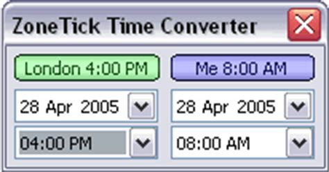 world time zone clock software zonetick time zone converter