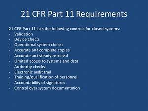understanding 21 cfr part 11 With 21 cfr part 11 compliant document management system
