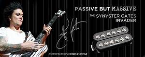Seymour Duncan Synyster Gates Invader