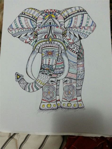 zentangle animal project  fun  relaxing project