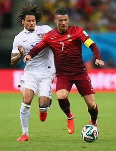Jermaine Jones in USA v Portugal: Group G - 2014 FIFA ...