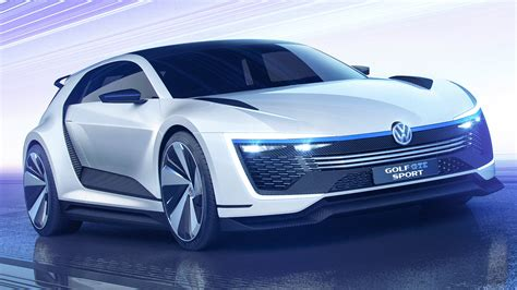 volkswagen golf gte sport concept wallpaper hd car