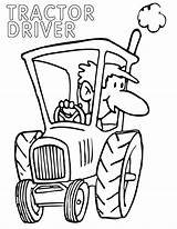Driver Coloring sketch template