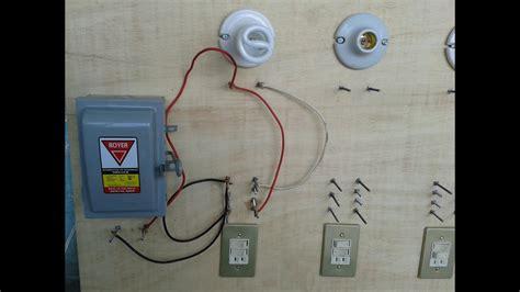 como conectar un foco con un apagador y con un contacto instalaciones electricas youtube