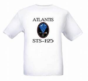 NASA Space Shuttle STS-125 Mission Logo T Shirt