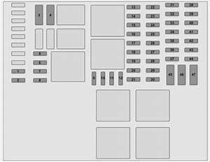 Vauxhall Vivaro  2014 - 2016  - Fuse Box Diagram