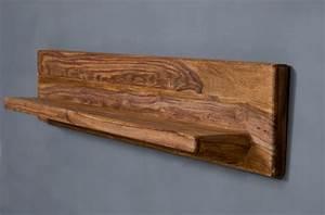 Regalbrett Holz Natur : wandregal regal 128cm sheesham massiv holz neu ovp ebay ~ Frokenaadalensverden.com Haus und Dekorationen