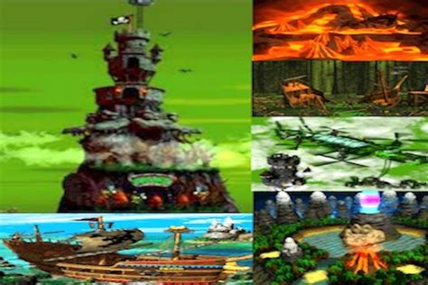 donkey kong country  diddys kong quest map quiz