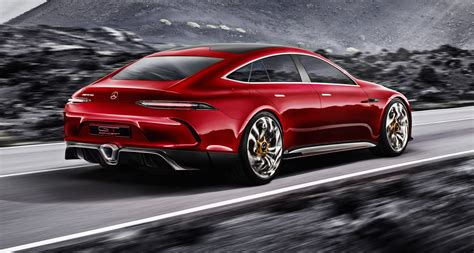 Mercedes Amg Gt Four Door Concept Revealed Photos