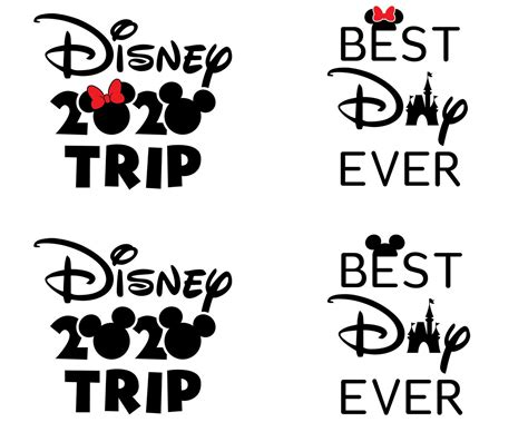 We are getting ready to take our kids to disneyland for the first time and i wanted to make some shirts for everyone in the family. Disney Trip SVG 2020, Best Day Ever SVG, Disney Vacation ...