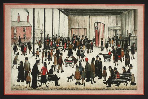 'punch And Judy', Ls Lowry Tate