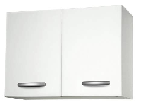 meuble cuisine hauteur meuble haut de cuisine en bois avec 2 portes blanc