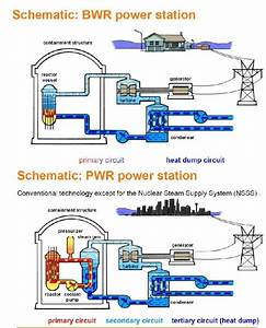 Difference Of Principle Between Bwr And Pwr  In Bwr  The