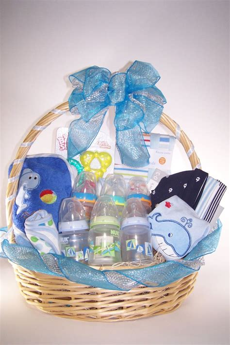 baby shower gifts for baby shower it 39 s a boy gift basket gift baskets