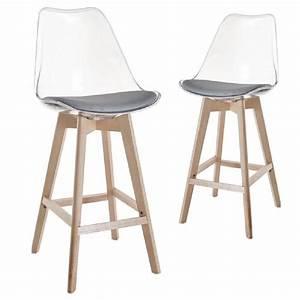 Chaise Transparente Fly : chaise de bar transparente transparent architecture dossier plexiglas cuisine conception salon ~ Teatrodelosmanantiales.com Idées de Décoration