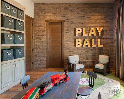 vivacious kids rooms  brick walls full  personality