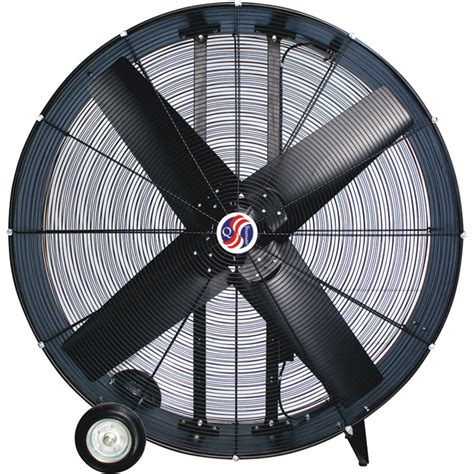 industrial fans direct com q standard industrial direct drive drum fan 48in model