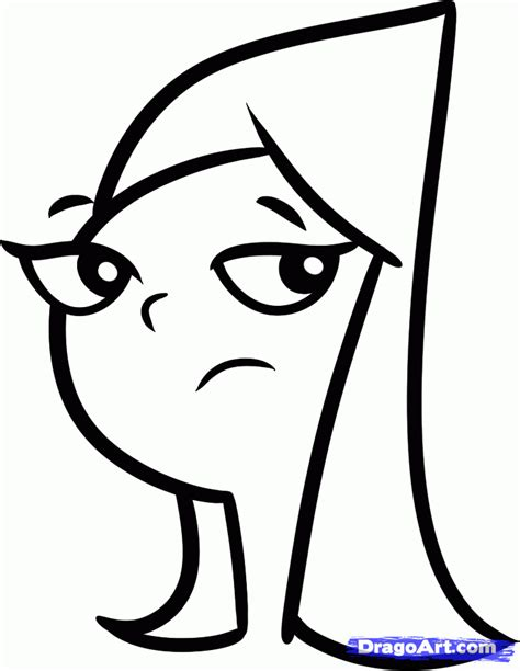 draw disney characters   draw candace easy