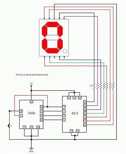 Ic Segment Circuit Datasheet Cathode Diagram Common