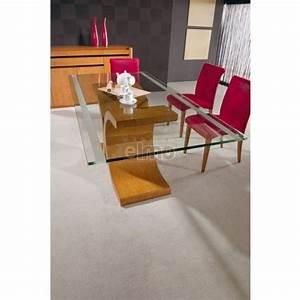 Table Plateau Verre Pied Bois : sous les pieds de table ~ Melissatoandfro.com Idées de Décoration