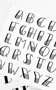 Cool Writing Fonts Artnight Handlettering Workshop Alphabet Bullet Journal