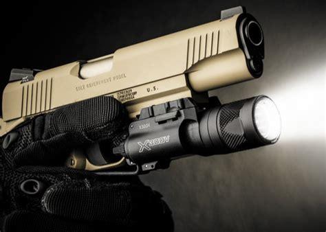 surefire pistol light surefire x300v led ir laser weaponlight 350 lumens