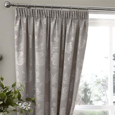palmero taupe thermal pencil pleat curtains pencil pleat