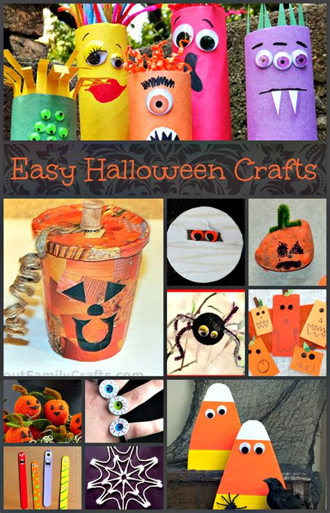 Easy Halloween Crafts Upstate Ramblings
