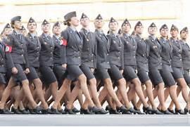 Beautiful Russian Fema...Russian Female Soldiers