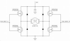 H Bridge Motor Driver Schematic
