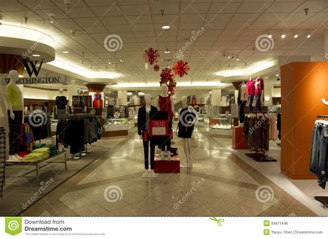 jc penny department store editorial photo image 34871646