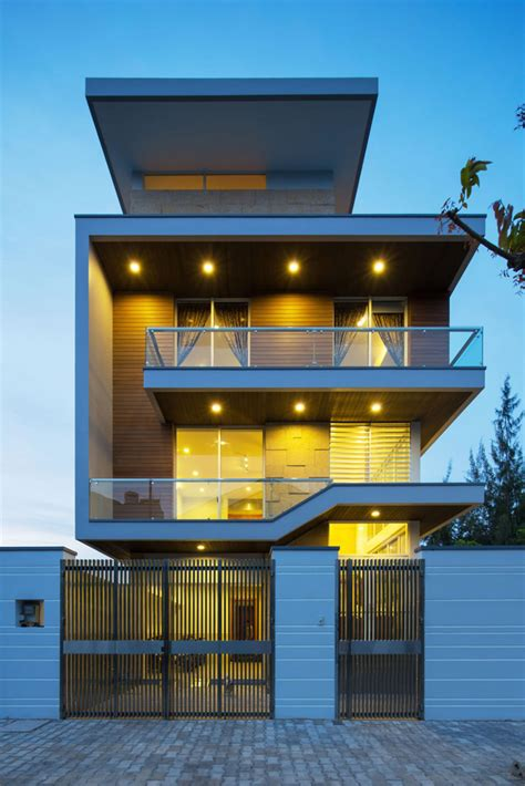 modern luxurious villa  dang duc hoa block architects  vietnam homesthetics inspiring