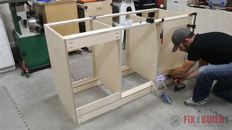 build  base cabinet  drawers fixthisbuildthat