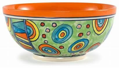 Bowls Serving Salad Bowl Ceramic Painted Hand