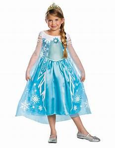 Deluxe Elsa Frozen Kostm Fr Mdchen