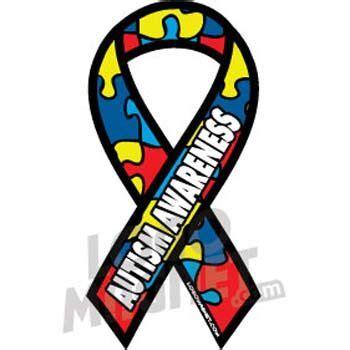 autism ribbonjpg custom car magnet logo magnet