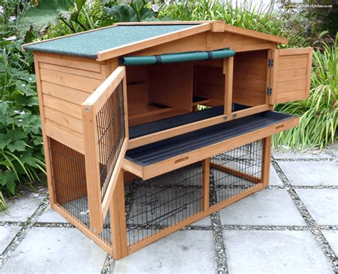 How To Make Your Own Rabbit Hutch by 4 Practical Tips In Your Own Rabbit Hutch Designs