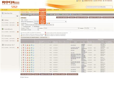 logiciel eclairage logiciels de gestion et de maintenance roch service