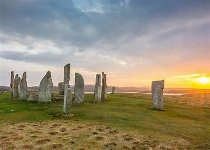 Stones Callanish Scotland Ancient Scottish Hebrides Neolithic