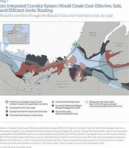 Mapping Arctic Corridors