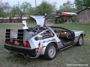 La DeLorean De Retour Vers Le Futur Vendue Aux Enchres