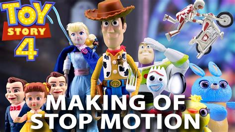 toy story  toys stop motion trailer making  youtube