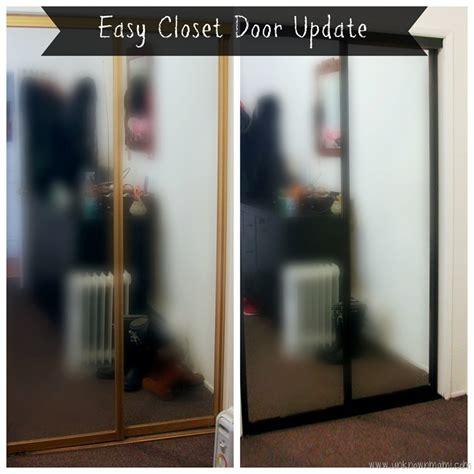 diy closet door spray paint update unknown mami by
