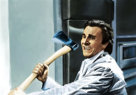 Guy With Axe Meme - image 323144 patrick bateman with an axe know your meme