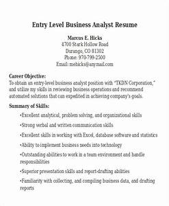 business management analyst resume