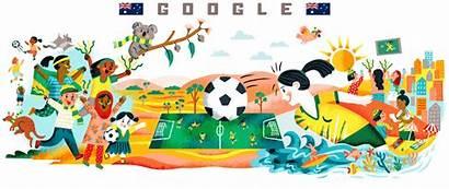 Cup Google Doodles Doodle Fifa Calcio Jamaican