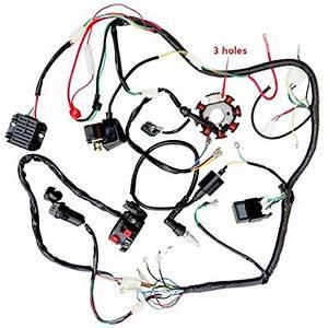 Zxtdr Complete Wiring Harness Kit Wire Loom Electrics